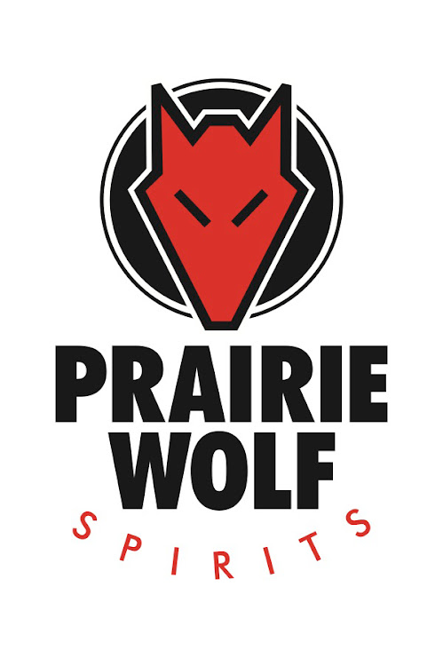 Logo for Prairie Wolf Vodka