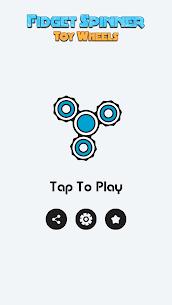 Fidget Spinner Toy Wheels 1