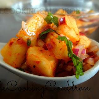 Spicy Pineapple Salad Recipe