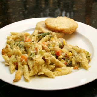 Easy Chicken and Penne Casserole.
