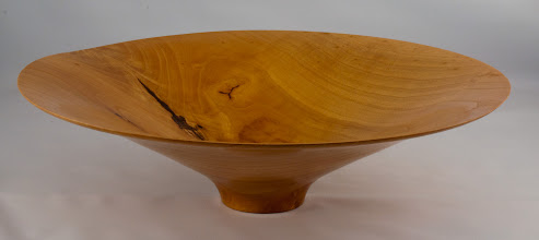 "Photo: Phil Brown -15"" x 4"" crotch pattern bowl [ash]"