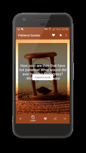 Patience Quotes screenshot 10