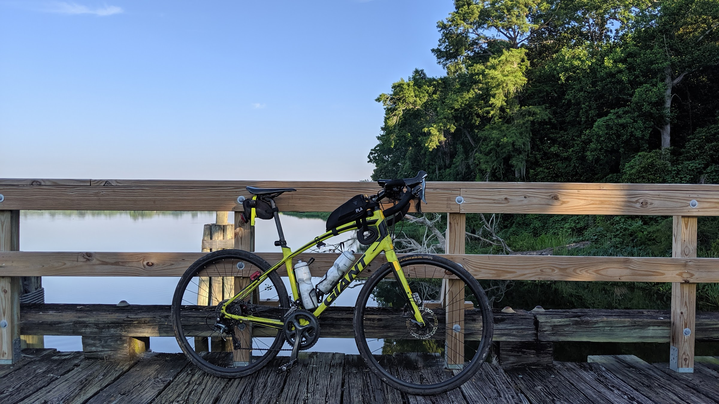 Fishing Pier on the Cooper River
