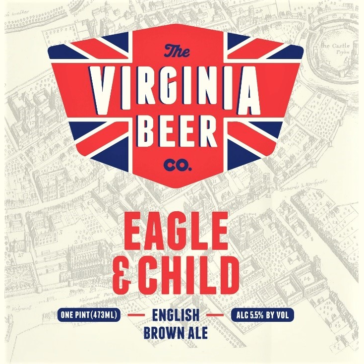 Logo of Virginia Beer Co. Eagle & Child
