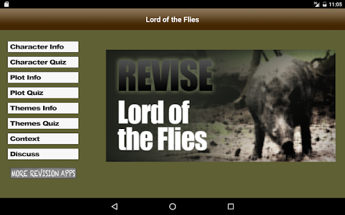 Revise Lord of the Flies- screenshot thumbnail