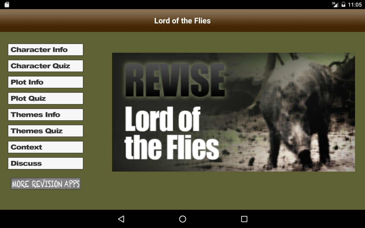 Revise Lord of the Flies- screenshot