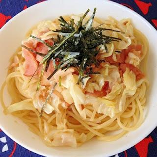 Garlic Soy Sauce Japanese-Style Pasta
