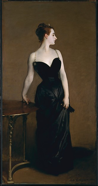 Madame X (Madame Pierre Gautreau), John Singer Sargent (American, Florence 1856–1925 London), Oil on canvas
