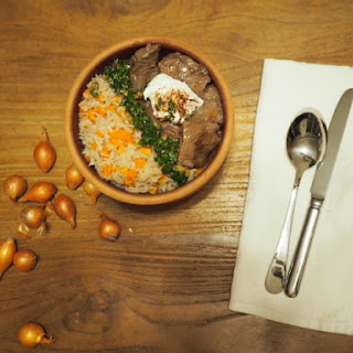 Aromatic Pilaf with Carrots and Tender Beef Recipe