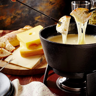Cheddar Cheese and Cider Fondue.
