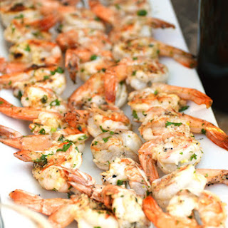 Grilled Garlic Shrimp (Gambas Al Ajillo) with Ribera Y Rueda Wine Recipe