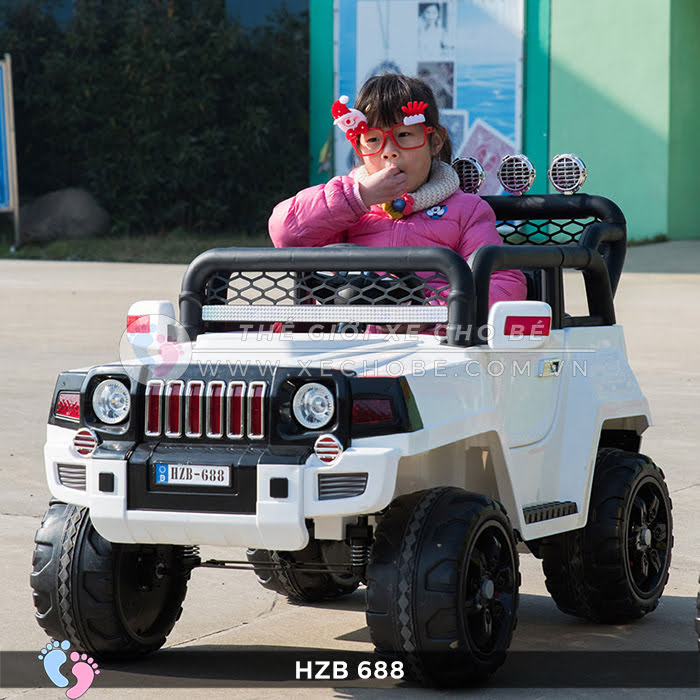 Xe ô tô điện cho bé Jeep HZB-688 6