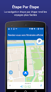 INRIX Traffic Cartes et GPS – Vignette de la capture d'écran