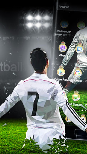 3D Madrid Football Theme for PC