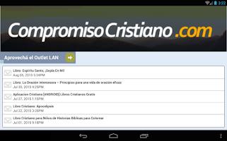 Screenshot of Compromiso Cristiano