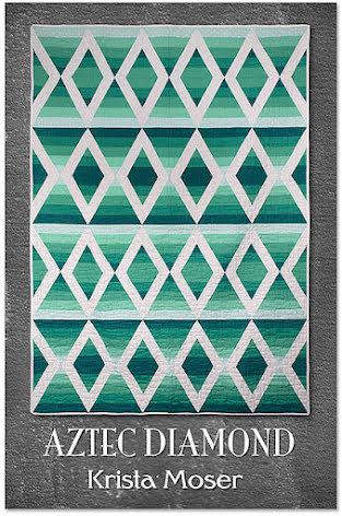 Aztek Diamond mönster av Krista Moser (16639)