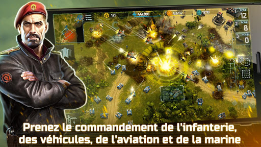 Tu00e9lu00e9charger Gratuit Art of War 3:PvP RTS Jeu Stratu00e9gique en Temps Ru00e9el APK MOD (Astuce) screenshots 1