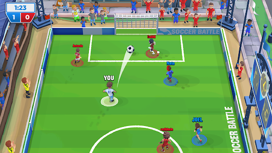 Soccer Battle – PvP Football MOD APK [Free Improvements] 1