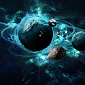3D Galaxy Wallpaper icon