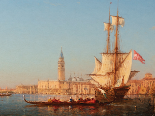 Segoura Fine Art - Felix ZIEM - Venise, le Grand Canal