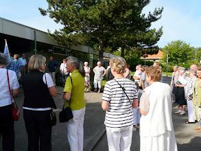 Photo: Het vredesminiatuur was oorspronkelijk bedoeld voor de vredesloper (zie elders op onze website)