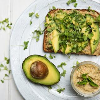 Creamy Eggplant and Avocado Toast Recipe