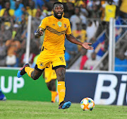 Mwape Musonda of Black Leopards scored a hat-trick for his team at the weekend against Chippa United./Philip Maeta/Gallo Images