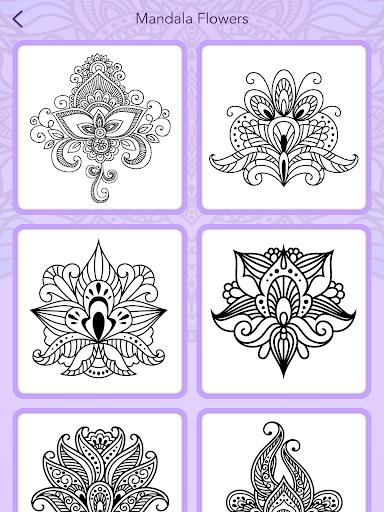 Mandala Coloring Book 3.1.4 screenshots 24