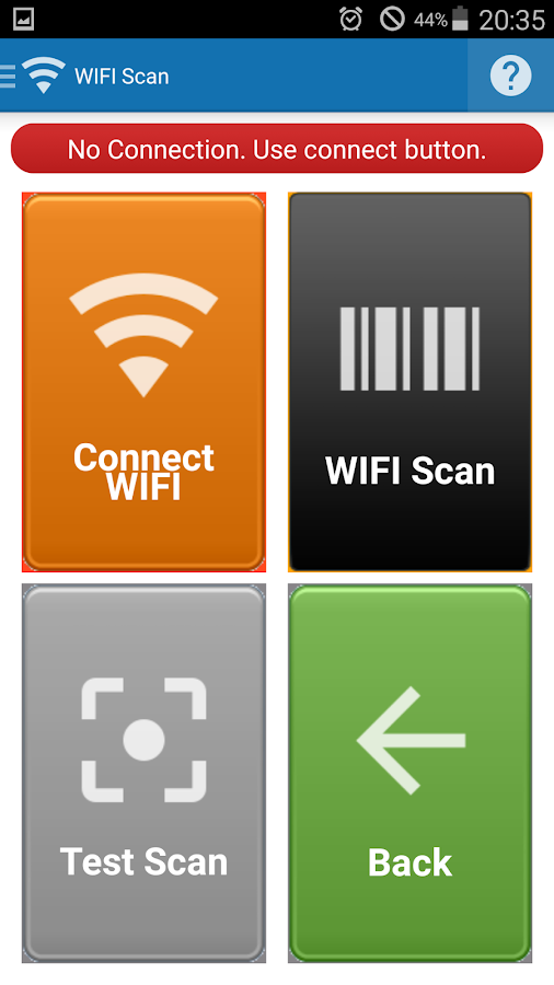 Barcode scanner & Inventory- screenshot