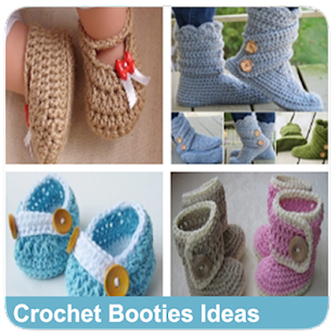 Crochet Booties Ideas - náhled