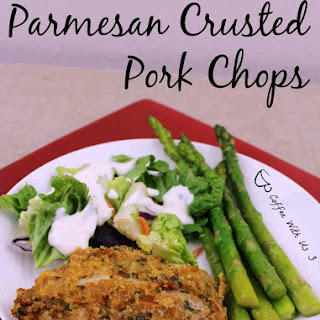Parmesan Crusted Pork Chops.
