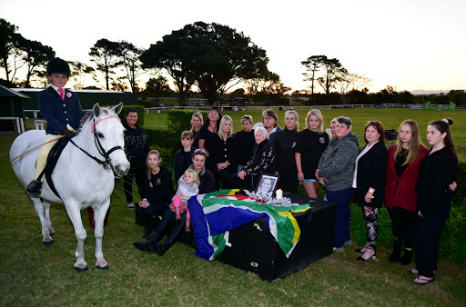 Women support murdered horse rider Meghan Cremer