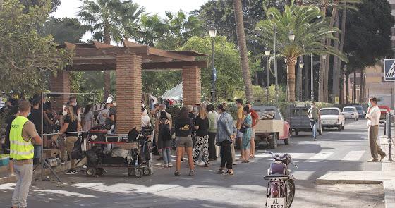 Primeras imágenes del rodaje en Almería de la serie de Netflix 'Jaguar'
