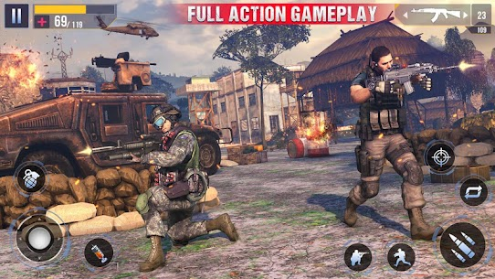 Real Commando Secret Mission – Free Shooting Games 2