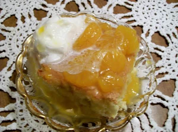 Orange Sponge Cake With Sauce By Freda Recipe