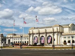 Photo: Union Station, Washington, DC.  I arrived on the Metro Red Line from Brookland / Catholic University of America station.