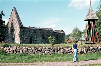 Photo: Kyrkoruin, Fänneslunda