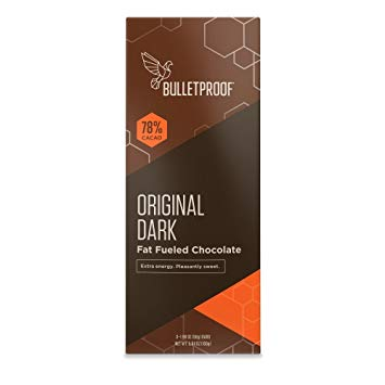 Bulletproof Chocolate Fuel Bars – Original Dark