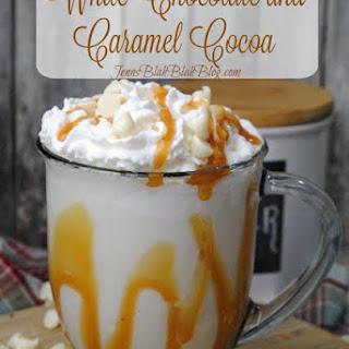 White Chocolate Caramel Cocoa.