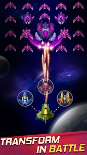 Wind Wings: Space Shooter MOD APK (Unlimited Money) 3