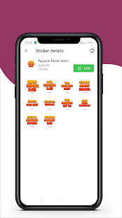 Download Ngapak Stiker Lucu WAStickerApps For PC Windows and Mac apk screenshot 5