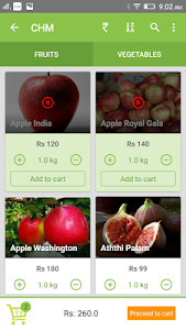Chm Fruits and Vegetables screenshot 3