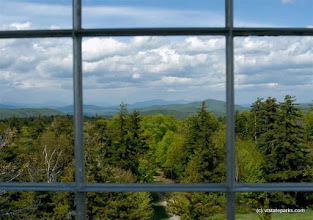Photo: You can see for miles from the fire tower at Allis State Park