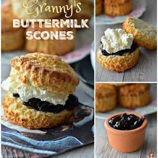 GRANNY'S BUTTERMILK SCONES Recipe