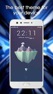 Launcher Theme for Oppo F3 Plus - náhled