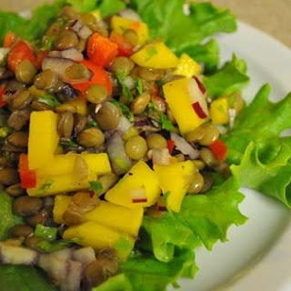 Lentill Mango Salad