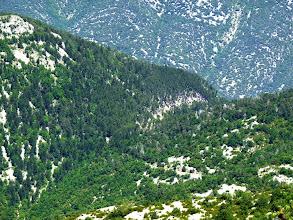Photo: le Col du Comte vu d'en haut
