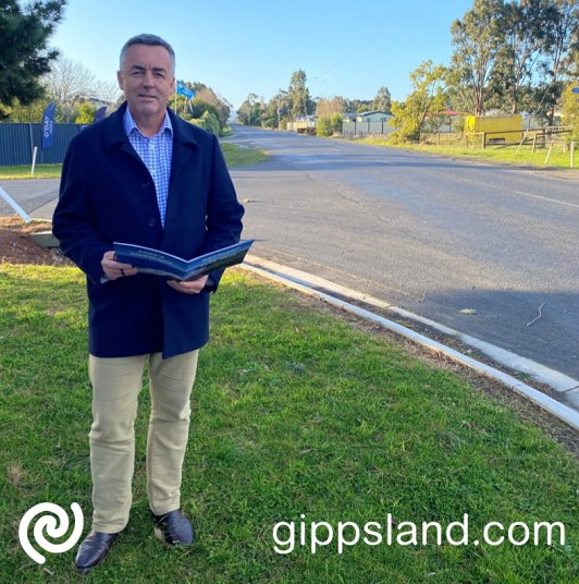Local MP Darren Chester said Airfield Road in Traralgon would be upgraded to improve safety for road users