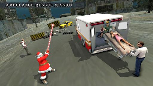 Crime City Simulator Santa Claus Rope Hero android2mod screenshots 3
