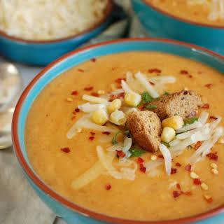 Slow Cooker Cheesy Potato Corn Chowder.